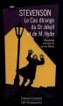 Couverture L'étrange cas du docteur Jekyll et de M. Hyde / L'étrange cas du Dr. Jekyll et de M. Hyde Editions Flammarion (GF - Etonnants classiques) 1998