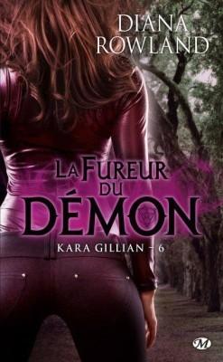 Couverture Kara Gillian, tome 6 : La Fureur du démon
