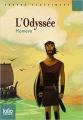 Couverture L'Odyssée, abrégée Editions Folio  (Junior - Textes classiques) 2009