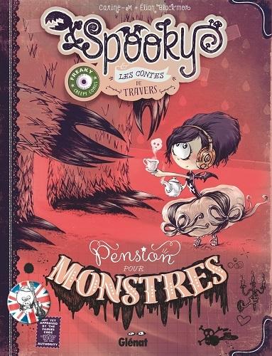 Couverture Spooky & les contes de travers, tome 1 :  Pension pour monstres