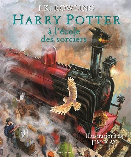 Couverture Harry Potter, illustré, tome 1 : Harry Potter à l'école des sorciers
