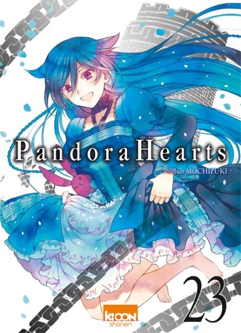 Couverture Pandora Hearts, tome 23