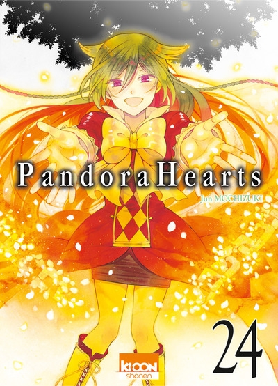 Couverture Pandora Hearts, tome 24