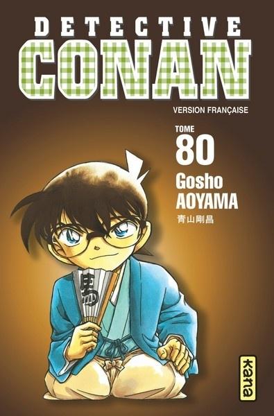 Couverture Détective Conan, tome 80