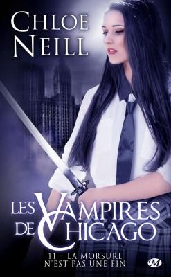 Couverture Les Vampires de Chicago, tome 11 : La morsure n'est pas une fin
