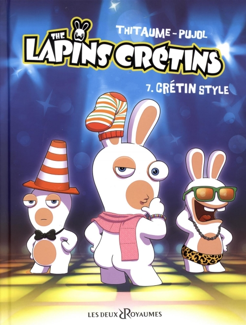 Couverture Les Lapins Crétins, tome 07 : Crétin style