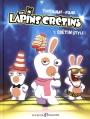 Couverture Les Lapins Crétins, tome 07 : Crétin style Editions Les Deux Royaumes (Bande Dessinée) 2015