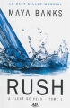 Couverture A fleur de peau, tome 1 : Rush Editions Milady (Romantica) 2015