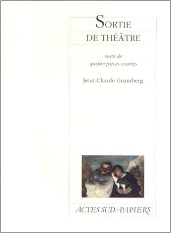 Couverture Sortie de théâtre