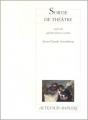 Couverture Sortie de théâtre Editions Actes Sud (Papiers) 2000