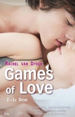 Couverture Games of love, tome 2 : Le désir