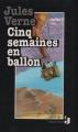 Couverture Cinq semaines en ballon Editions France Loisirs (Jeunes) 1992