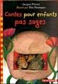 Couverture Contes pour enfants pas sages Editions Folio  (Cadet) 2007