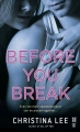 Couverture Between breaths, tome 2 : Before you break Editions Intermix 2014