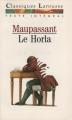 Couverture Le Horla Editions Larousse (Classiques) 1993