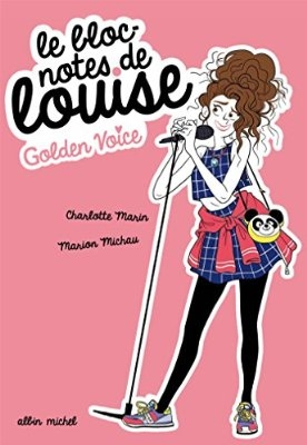 Couverture Le bloc-notes de Louise, tome 2 : Golden voice