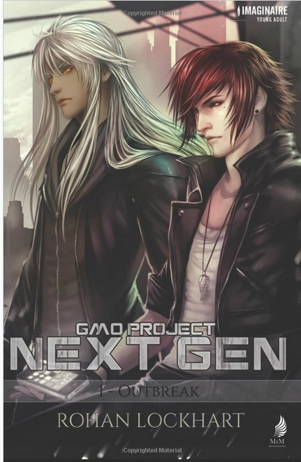 Couverture GMO Project Next Gen, tome 1 : Outbreak