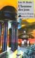 Couverture L'homme des jeux Editions Robert Laffont (Ailleurs & demain) 2012