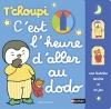 Couverture T'choupi: C'est l'heure d'aller au dodo Editions Nathan 2015