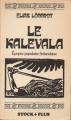 Couverture Le Kalevala Editions Stock 1978