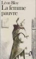 Couverture La femme pauvre Editions Folio  1980