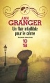 Couverture Lizzie Martin, tome 4 : Un flair infaillible pour le crime Editions 10/18 (Grands détectives) 2015