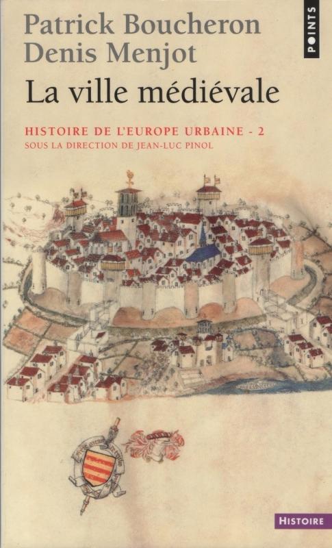 Couverture Histoire de l'Europe urbaine, tome 2 : La ville médiévale