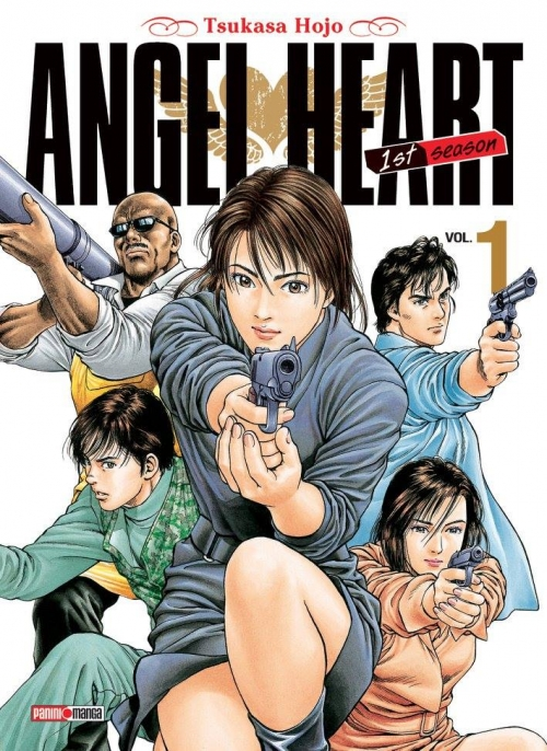 Couverture Angel Heart, 1st Season, tome 01