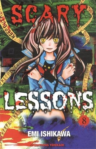 Couverture Scary Lessons, tome 08