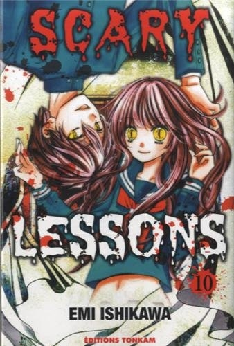 Couverture Scary Lessons, tome 10