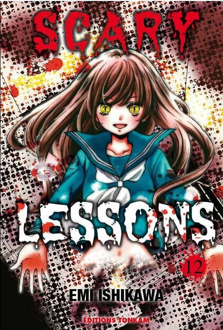 Couverture Scary Lessons, tome 12
