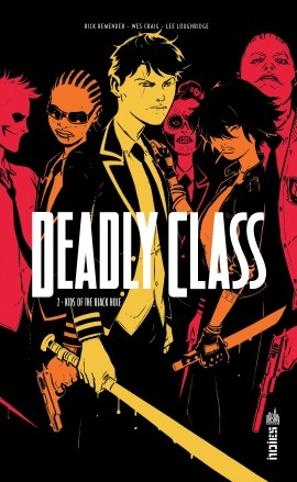 Couverture Deadly Class, tome 2 : Kids of the black hole