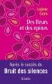 Couverture Des fleurs et des épines Editions JC Lattès 2015