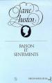 Couverture Raison et sentiments / Le coeur et la raison Editions Christian Bourgois  1979