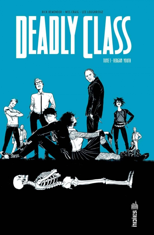 Couverture Deadly Class, tome 1 : Reagan youth