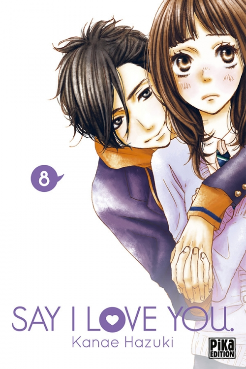 Couverture Say I Love You, tome 08