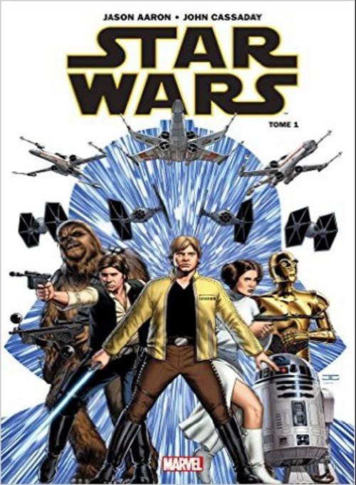 Couverture Star Wars (Panini), tome 1 : Skywalker passe à l'attaque