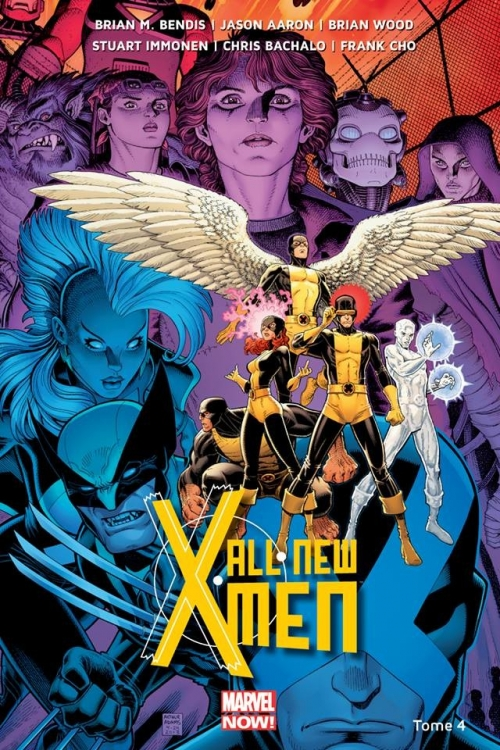 Couverture All-New X-Men (Marvel Now), tome 4 : La Bataille de l'Atome