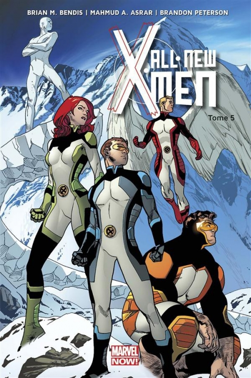 Couverture All-New X-Men (Marvel Now), tome 5 : Déménagement