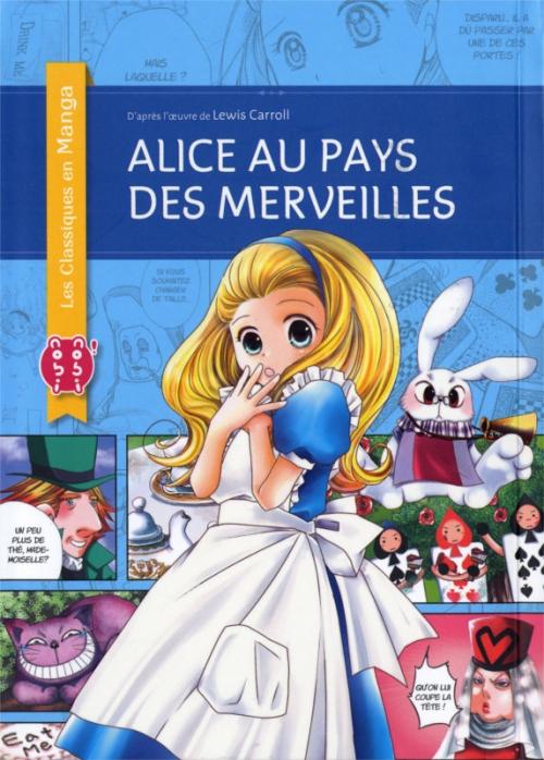 Couverture Alice au pays des merveilles (manga)