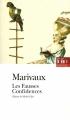 Couverture Les fausses confidences Editions Folio  (Théâtre) 1997