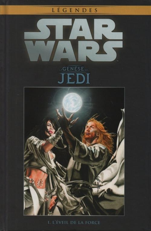 Couverture Star Wars (Légendes) : La Genèse des Jedi, tome 1 : L'éveil de la Force