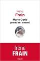 Couverture Marie Curie prend un amant Editions Seuil 2015