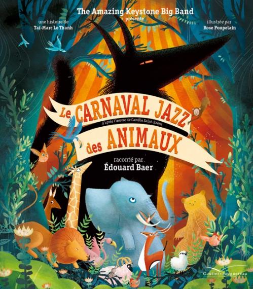 Couverture Le Carnaval Jazz des animaux
