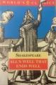 Couverture Tout est bien qui finit bien Editions Oxford University Press (World's classics) 1994