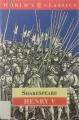 Couverture Henry V Editions Oxford University Press (World's classics) 1994