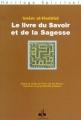 Couverture Le livre du savoir et de la sagesse Editions Albouraq 2002