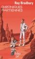 Couverture Chroniques martiennes Editions Folio  (SF) 2015