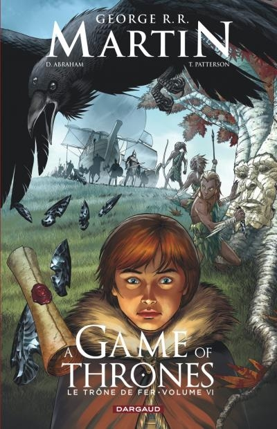 Couverture A Game of Thrones : Le Trône de fer (comics), tome 6