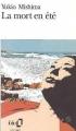 Couverture La Mort en été Editions Folio  1990